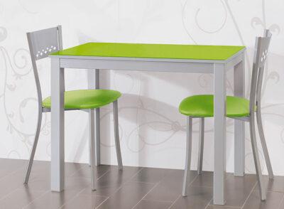 Mesa de apertura frontal extensible varios colores disponibles
