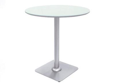 Mesa redonda alta cocina pata central