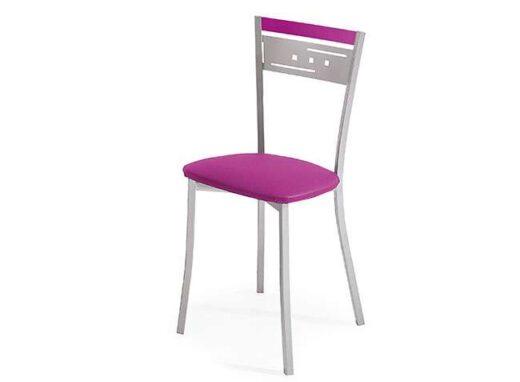 silla-cocina-fucsia-con-patas-de-metal-032si737