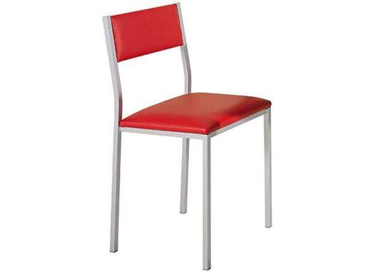 silla-tapizado-rojo-y-estructura-de-aluminio-032si739