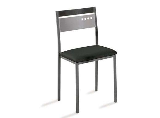 sillas-cocina-negras-con-estructura-de-aluminio-032si755