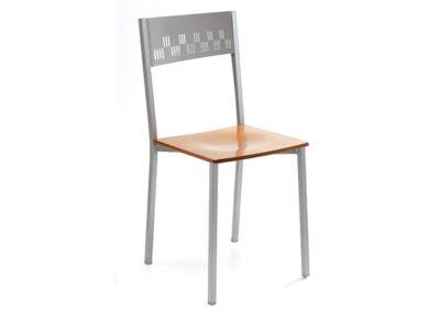 Sillas metal madera para mesas de diseño