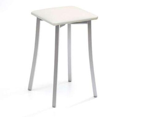 taburete-blanco-sin-respaldo-con-asiento-de-polipiel-032ta823