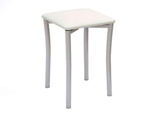 taburete-pequeno-color-blanco-con-asiento-de-polipiel-032ta936