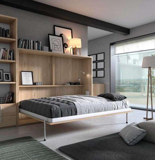 dormitorios-de-matrimonio-con-cama-abatible-y-estanterias-116cl87102