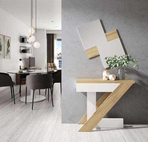 recibidor-nordico-con-espejo-a-juego-blanco-y-madera-615on50