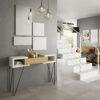 recibidores-originales-con-espejos-modernos-blanco-y-madera