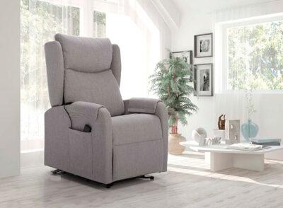 Butaca relax diseño eléctrica color gris