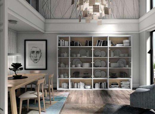 estanterias-salon-madera-y-blanco-con-puertas-de-cristal-116clc861