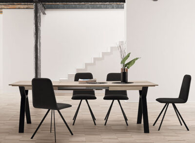 Mesa comedor estilo escandinavo extensible
