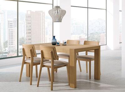 Mesas rectangulares para comedor extensible