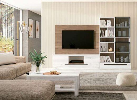 mueble-tv-moderno-minimalista-con-estanteria-madera-y-blanco-040ve001
