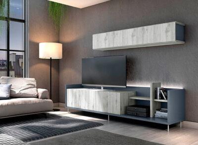 Muebles de TV de Diseño con módulo colgante