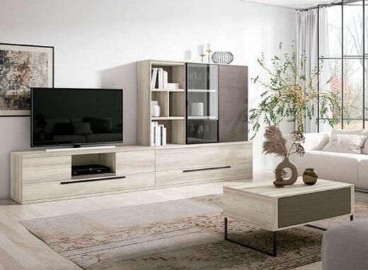 muebles-modulares-para-salon-con-mueble-bajo-tv-con-cajones-y-vitrina-040ve005